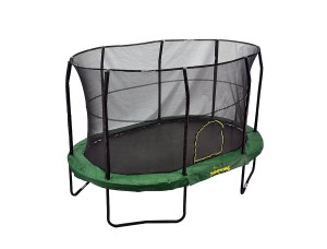 jump king oval trampoline for backyard